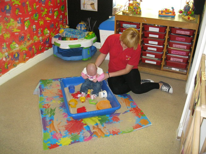 Babies room Little Wendy House Day Nursery Wednesbury